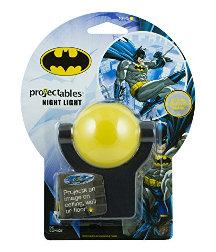 Dc comics 39 projectables batman led plug in night light 10445 import it all - Batman projector night light ...