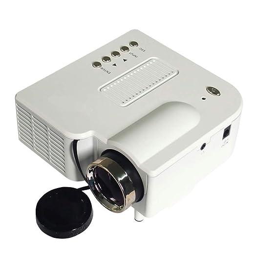 QLPP Mini proyector portátil, 1080p HD LED Pico Cinema, Pantalla ...
