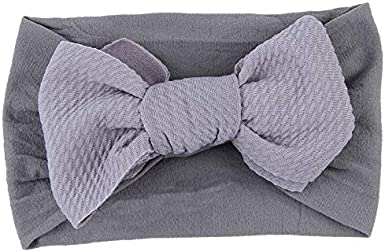 Big Hair Bow Baby Christmas Headbands Knot Headwrap Nylon Elastic Head Wraps for Newborn Infant Toddler Hair Accessories
