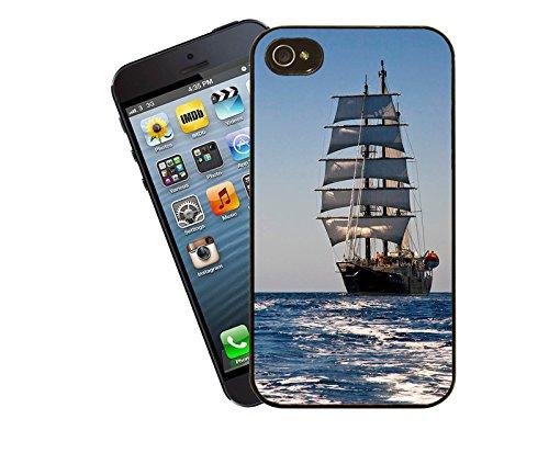 Navire/bateau - 001–Housse Etui pour Apple iPhone 5/5s 5c-By Non Eclipse idées cadeaux