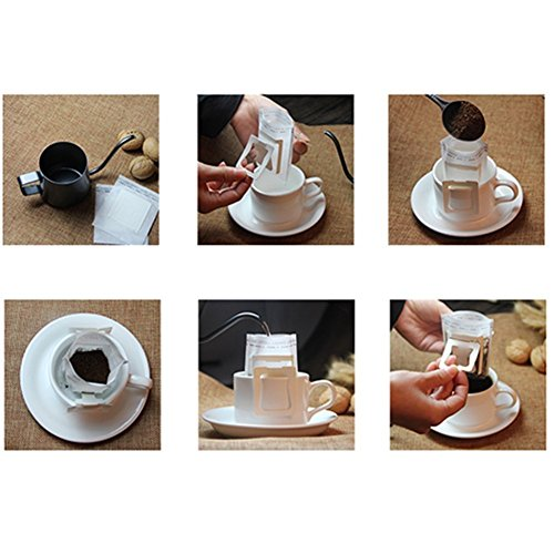 Coffee Kettle Stainless Steel Pour Over Drip Gooseneck Kettle for Tea Coffee Maker Pot