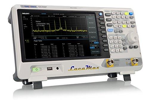 (SIGLENT SSA3021X Spectrum Analyzer 9 kHz up to 2.1 GHz w/ Tracking Generator)