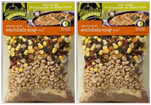 (Frontier Soups Homemade In Minutes Arizona Sunset Enchilada Soup Mix - 5.75 Ounce - 2)