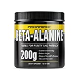 PrimaForce Beta-Alanine comes in 200-gram containers.PrimaForce Beta-Alanine has been scientifically shown to enhance performance during high-intensity exercise. This enables the body to increase muscle mass and improve endurance. It can be taken ...