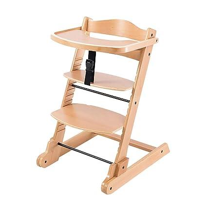 Tronas Wood Baby HighChairs Limpiar Silla De Comedor ...