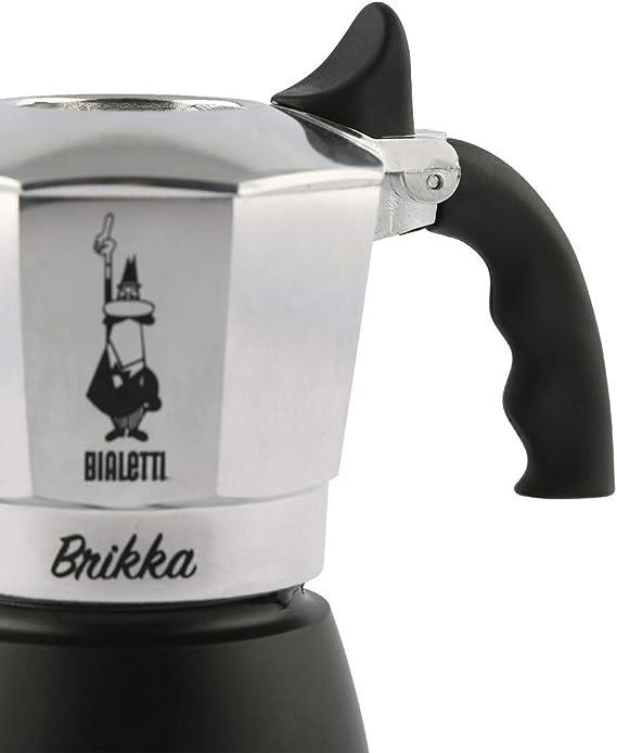 Bialetti New Brikka Cafetera Italiana Que eroga Doble Crema ...