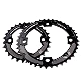 Race Face Turbine Chainrings, Black, 104mm 24/36T/Bash, 10-Speed by RaceFace
