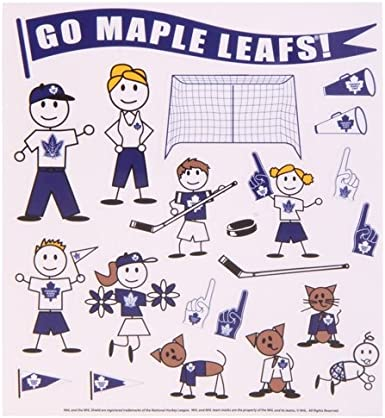 WinCraft NHL-Family Decal Sheet