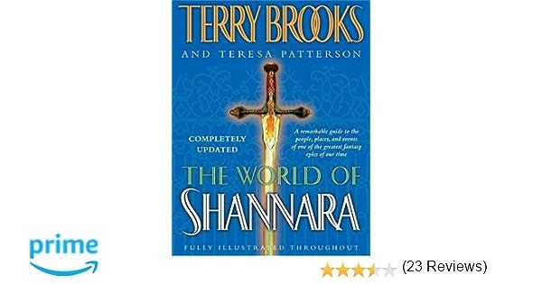 The World Of Shannara Amazon Ca Terry Brooks Teresa Patterson Books