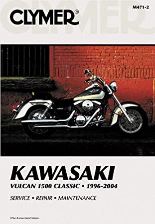 clymer repair manual for kawasaki vn1500 vulcan 96 08 diagnostic rh amazon ca kawasaki vulcan 1500 repair manual free kawasaki vn 1500 service manual pdf