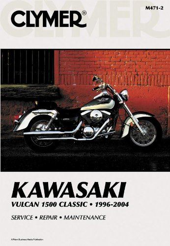 amazon com clymer repair manual for kawasaki vn1500 vulcan 96 08 rh amazon com kawasaki vulcan 1500 nomad service manual kawasaki vn 1500 repair manual download