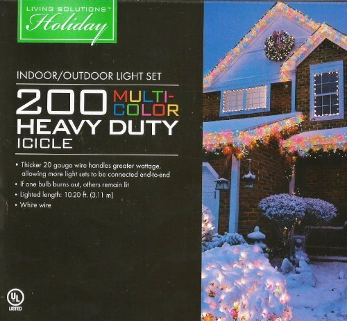 Heavy Duty Outdoor Icicle Lights