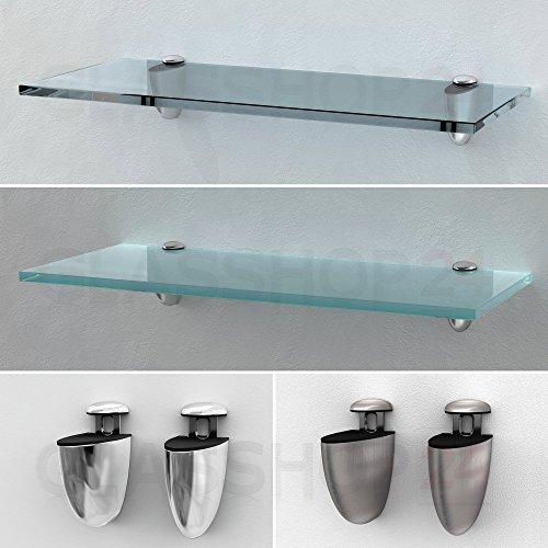 Glasregal 800x150x8mm | Klarglas
