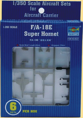Trumpeter 1/350 F/A-18E Super Hornet Model (F A 18e Super Hornet)