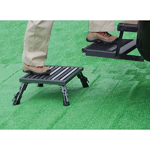 Safety Step A-10C-G Folding Step Adjustable Height