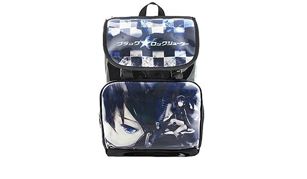 Gumstyle Black Rock Shooter Anime Cosplay Handbag Messenger Bag Shoulder School Bags