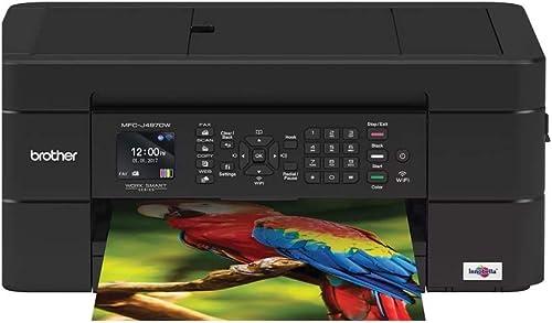 Brother MFC-J497DW Desktop Multifunction Color Printer. Plain Paper
