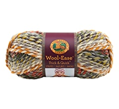 Lion Brand Yarn Company 640-148 Wool-Ease Thick & Quick, Slate Yarn
