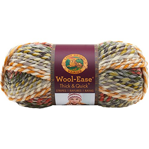 (Lion Brand Yarn 640-612 Wool-Easethick & Quick, Coney Island)