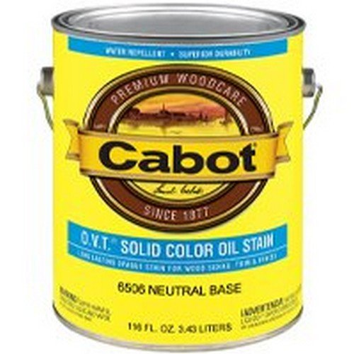 - Cabot O.V.T. Solid Color Exterior Oil Stain
