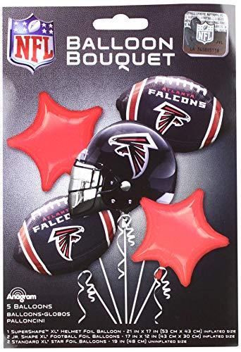 Anagram 31411 Atlanta Falcons Balloon Bouquet, -