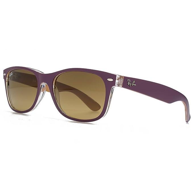 minorista online b78c3 0522c Ray-Ban Nuevas gafas de sol Wayfarer en violeta mate en ...