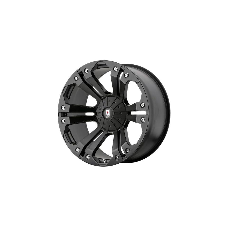 20x9 KMC XD Monster (Matte Black) Wheels/Rims 5x127/139.7 (XD77829035718)