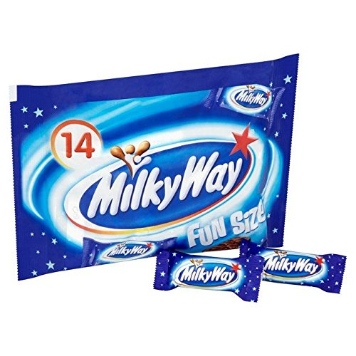 (Milky Way Funsize Bag 227g - Pack of 2)