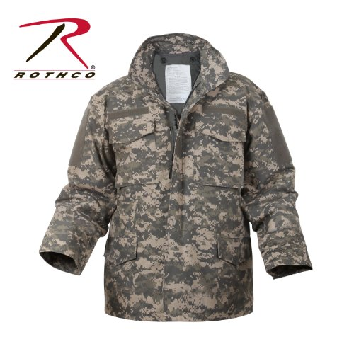 - Rothco M-65 Field Jacket - ACU Digital Camo, Medium