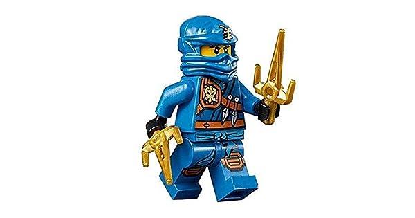 Amazon.com: LEGO Ninjago – Minifigura Jay zukin Robe Selva ...