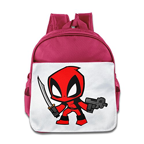 Price comparison product image MoMo Unisex Funny Gun Cartoon Character Kids School Backpack For Little Kids