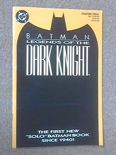 Batman Legends of the Dark Knight #1 : Shaman Part One (DC Comics)