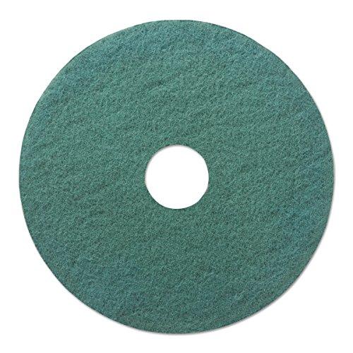 "Boardwalk 4020GRE Standard Floor Pads, 20"" Diameter, Green (Case of 5)"