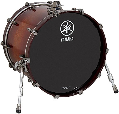 Yamaha Live Custom Bass Drum 18 x 14 in. Amber Shadow Sunburst (Custom Yamaha Oak)