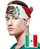 THE IDEAL MEXICAN FLAG BANDANA • DISTRIBUTED AND SOLD EXCLUSIVELY BY COSTUME ADVENTURE, INC. • STYLISH MEXICAN FLAG DESIGN • ONE SIZE FITS MOST • MADE OF A COMFORTABLE DURABLE MATERIAL This Mexican Flag Bandana is sold and distributed exclusively fro...