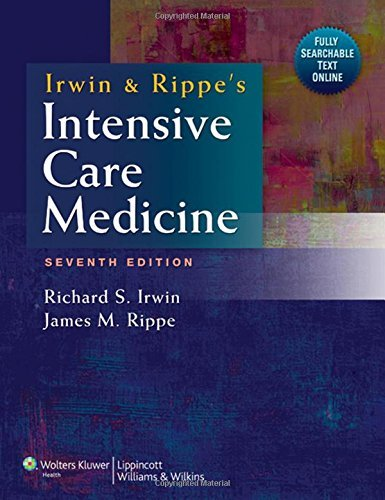 Irwin and Rippe's Intensive Care Medicine by Richard S. Irwin (2011-10-01)