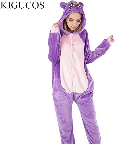 JYLW Pijamas Invierno Mujer Animal De Invierno Luna Disfraces ...