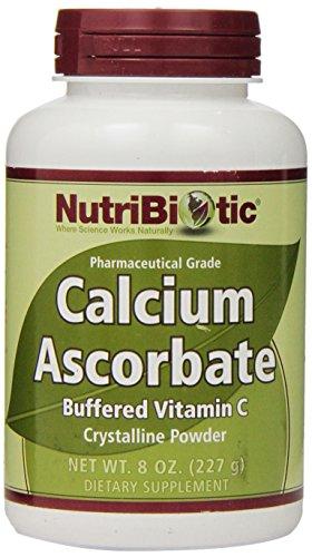 Nutribiotic Calcium Ascorbate Powder, 8 Oz
