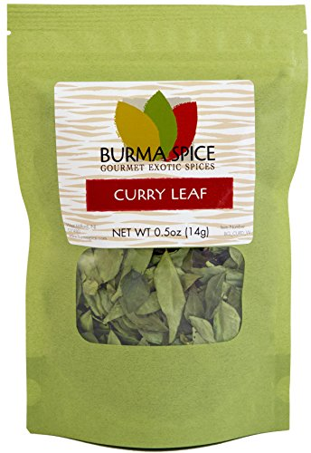 Dried curry leaves (Kari) l 100% Kosher Indian spices l Great for Ayurvedic medicine l 0.5 ounces (Best Coconut Oil Brand For Hair In Pakistan)