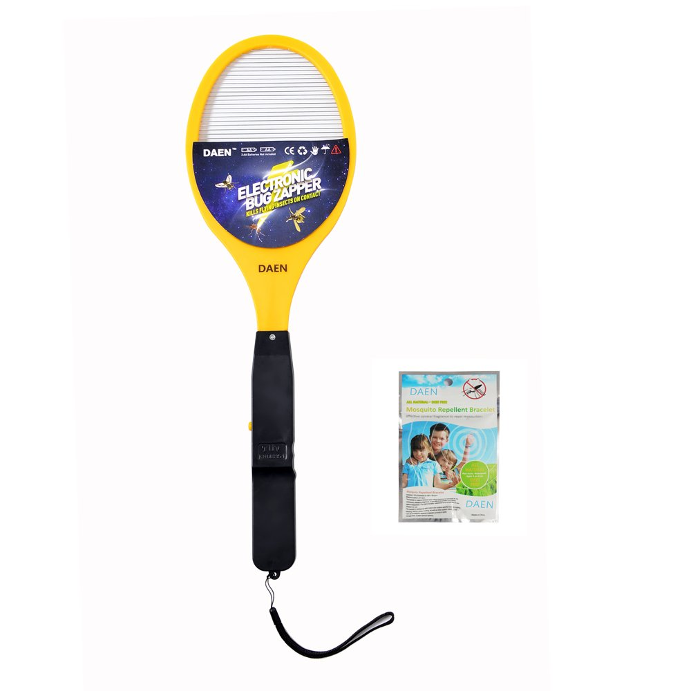 DAEN Electric Bug Zapper - Fly Swatter and zap Mosquito Best for Indoor and Outdoor Pest Control
