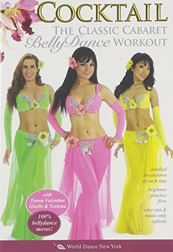 Cocktail - The Classic Cabaret Belly Dance Workout, with Tanna: A complete bellydance fitness class, including beginner belly dance instruction