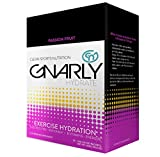 Gnarly Hydrate Electrolyte Powder with Trace Minerals | All Natural Workout Supplement (Passion Fruit)