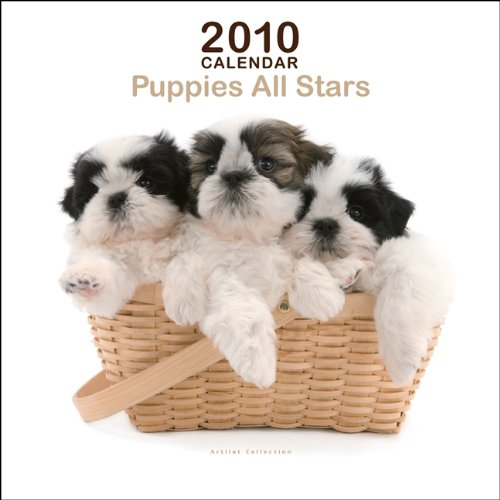 Dog Calendar 2010 Mini - Puppies All Star Mini 2010 Mini Wall ARTLIST