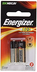 Energizer A23 Battery, 12 Volt