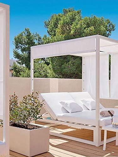 Pflanzwerk® Maceta Tub Arena 40x80x40cm *Resistente a Las heladas* *Protección UV* *Calidad Europeo*: Amazon.es: Jardín