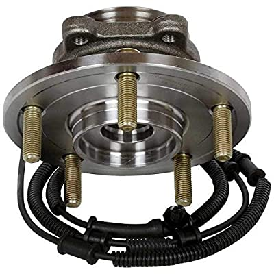 Bodeman - Pair 2 REAR Wheel Hub and Bearing Assembly for 2008-2012 Dodge Grand Caravan, Town & Country/for 2009-2012 VW Routan: Automotive