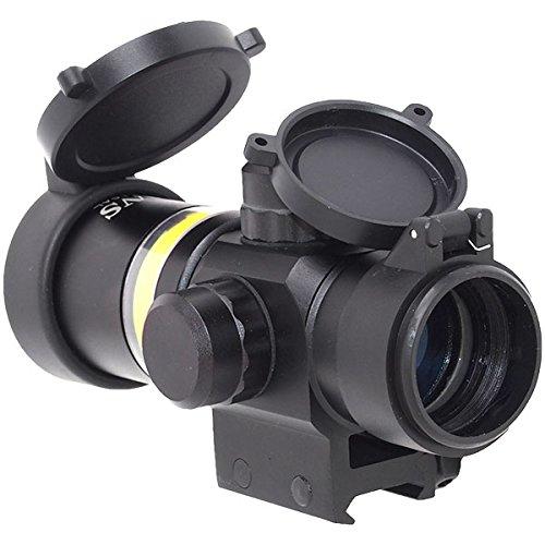 ANS Optical 2×28 タクティカルスコープ ファイバースコープ オートイルミネート グリーン dts-013gr B00R2O55AW