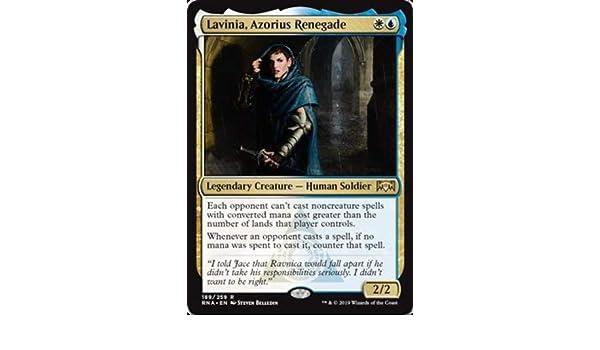 Amazon com: Magic: The Gathering - Lavinia, Azorius Renegade