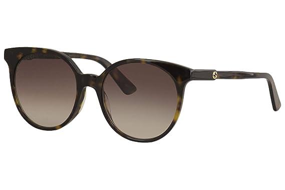 Amazon.com: Gafas de sol Gucci GG 0488 S- 002, Havana ...