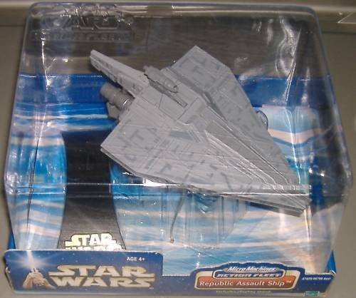 Star Wars Micro Machines Action Fleet Republic Assault Ship (Republic Assault Ship)